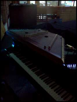 piano and dulcimer
