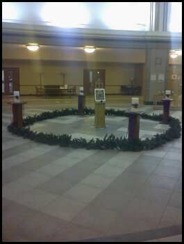 St C advent wreath