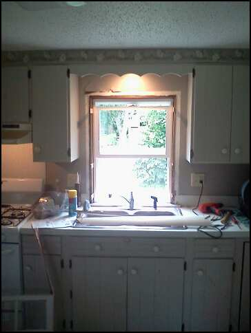 new kitchen window