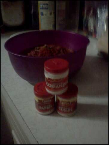 spice blend and salsa