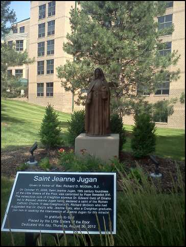 St Jeanne Jugan at Creighton