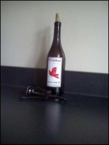 parishioner-made wine