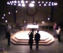 STA altar at night small