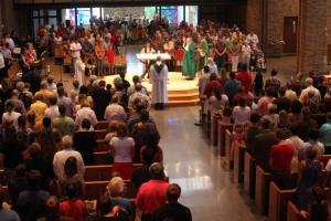 Fr Ev farewell Mass