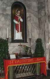 st valentine shrine