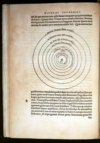 Nicolaus Copernicu, De revolutionibus orbium coelestium (Norimbergae, 1543).